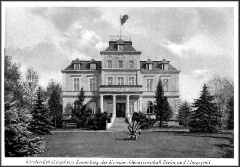a 1. Gebäude Sperenberg damals